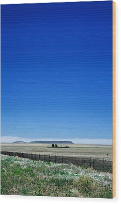 Wood Print featuring the photograph Somewhere On Hwy 285 Number One by Lon Casler Bixby