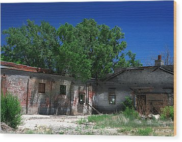 Wood Print featuring the photograph Somewhere On Hwy 285 Number Three by Lon Casler Bixby