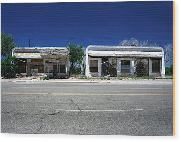 Wood Print featuring the photograph Somewhere On Hwy 285 Number Two by Lon Casler Bixby