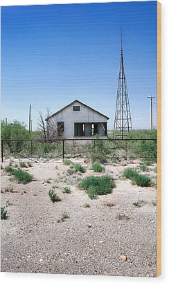 Wood Print featuring the photograph Somewhere On The Old Pecos Highway Number 5 by Lon Casler Bixby