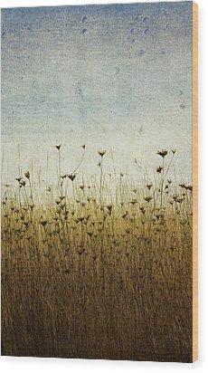 Somewhere Wood Print by Rebecca Cozart