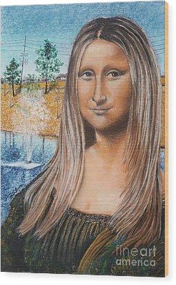 Sonamali Wood Print by Jim Barber Hove