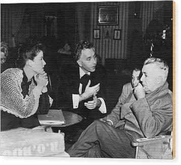Song Of Love, Katharine Hepburn, Paul Wood Print by Everett