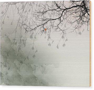 Song Of The Fall Season Wood Print