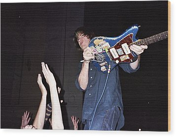 Sonic Youth Moore Theater Seattle Wood Print