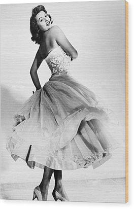 Sophia Loren (1934-  ) Wood Print by Granger