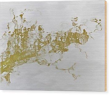 Sorcerer's Tattoo Wood Print by Odd Jeppesen