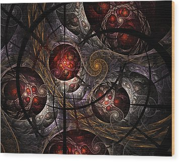 Wood Print featuring the digital art Soul Of Osiris by NirvanaBlues