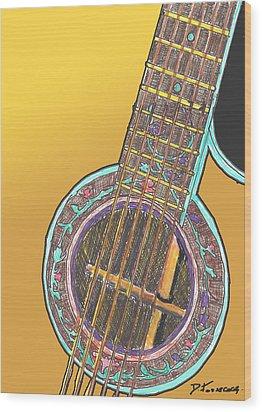 Sound Idea Wood Print by David Fossaceca