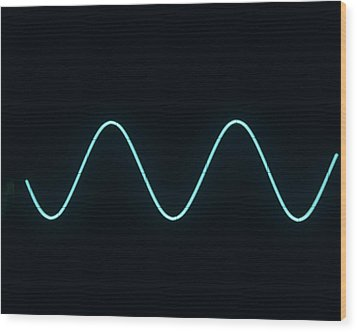 Sound Wave Wood Print by Andrew Lambert Photography