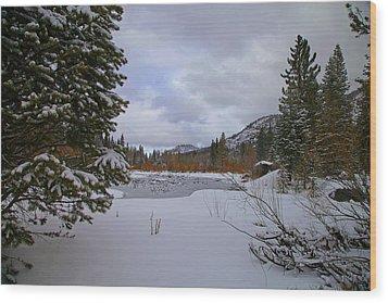 South Lake Tahoe Wood Print