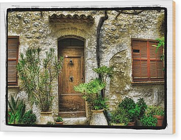 South Of France 1 Wood Print by Mauro Celotti