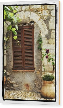 South Of France Wood Print by Mauro Celotti