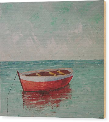 South Of France Saint Tropez Wood Print by Frederic Payet