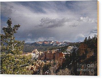 South Rim Bryce Canyon Wood Print by Butch Lombardi