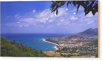 Southeast Coast  Panoramic Route Wood Print by Thomas R Fletcher