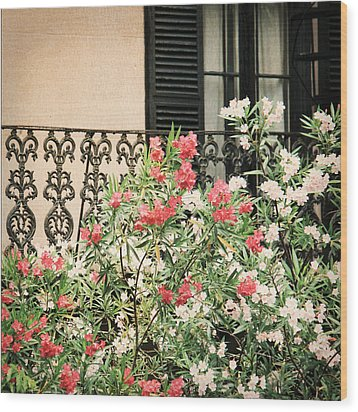 Southern Charm Wood Print by Mary Hershberger