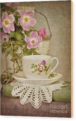 Southern Tea Wood Print