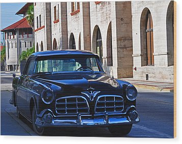 Southern Wheels Wood Print by Peter  McIntosh