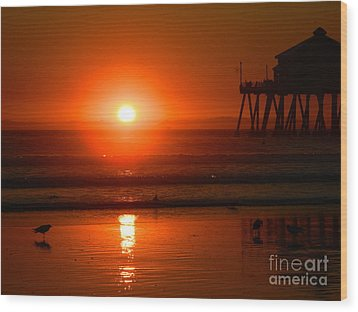 Wood Print featuring the photograph Southside by Everette McMahan jr
