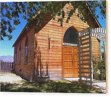 Southwestern Chapel Wood Print