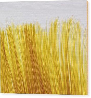 Spaghetti Wood Print by David Chapman