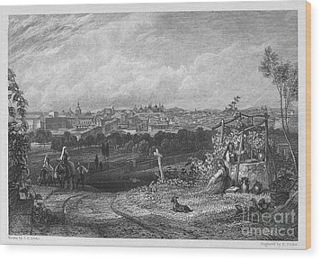 Spain: Madrid, 1833 Wood Print by Granger