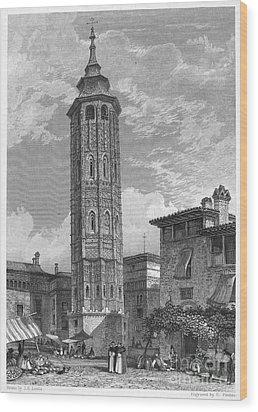 Spain: Saragossa, 1833 Wood Print by Granger