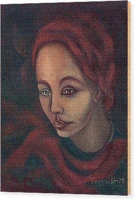 Spanish Ginger  Wood Print by Rachel Hershkovitz