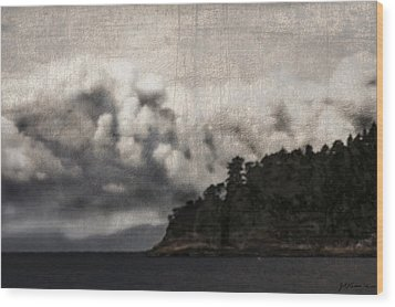 Special Cloud Wood Print by Janet Kearns
