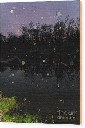 Spherical Sunrise Wood Print