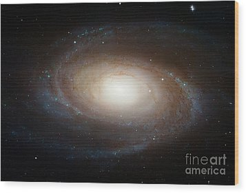 Spiral Galaxy M81 Wood Print by Nasa