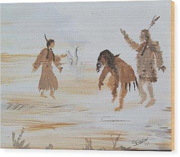 Spirit Dance Wood Print