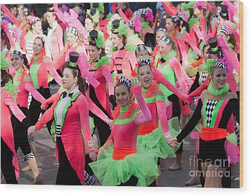 Spirit Of America Dance Team I Wood Print by Clarence Holmes