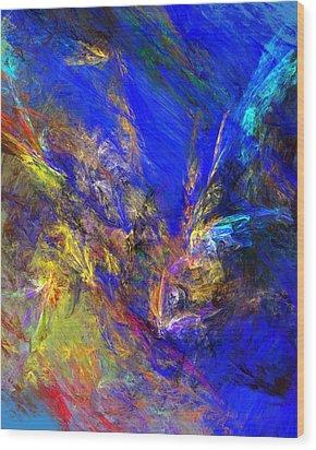 Spirits Over Bay Wood Print by David Lane