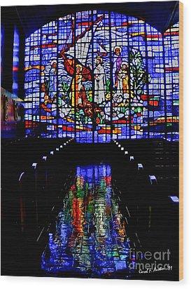 House Of God - Spiritual Awakening Wood Print