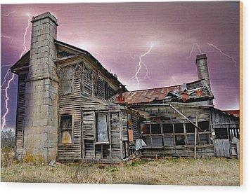 Spooky Wood Print by Marty Koch