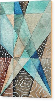 Spotlight Wood Print by Kimberly Garvey