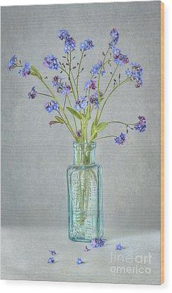Spring Blues Wood Print by Jacky Parker