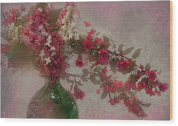 Spring Bouquet1 Wood Print by Jeff Burgess