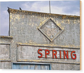 Wood Print featuring the photograph Spring by Brian Sereda