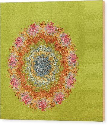 Spring Dream Wood Print by Bonnie Bruno