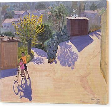 Spring In Cyprus Wood Print by Andrew Macara