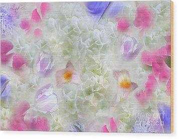 Spring Is In The Air Wood Print by Cindy Lee Longhini