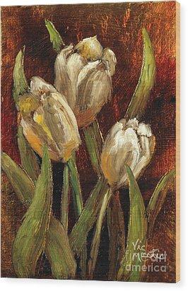 Spring Suprise Wood Print by Vic  Mastis