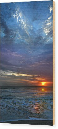 Wood Print featuring the photograph St. Augustine Sunrise by Rod Seel