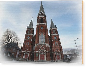 St. Josaphat Roman Catholic Church Detroit Michigan Wood Print by Gordon Dean II