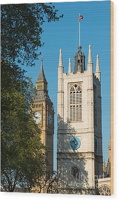 St Margarets Church Westminster  Wood Print by Andrew  Michael
