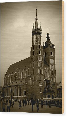 St. Mary's Basilica Wood Print by Kamil Swiatek