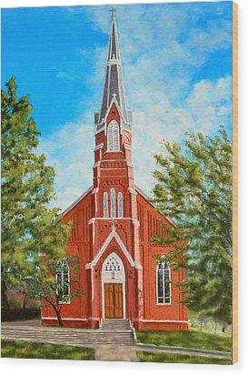 St. Mary's Church Wood Print